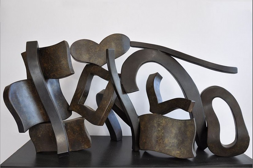Hans Van de Bovenkamp, Letter To My Mother 2011, bronze