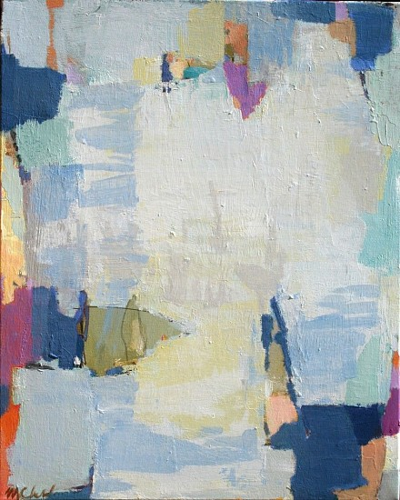 Maureen Chatfield, Cascade 2017, oil on canvas