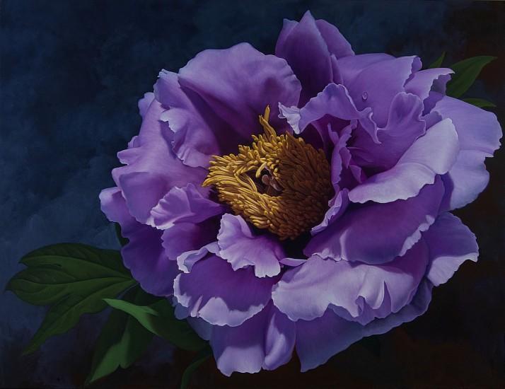 Nancy Depew, Bittersweet 2017, oil on canvas