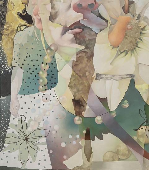 Daryl Zang, Presence 2017, oil on canvas