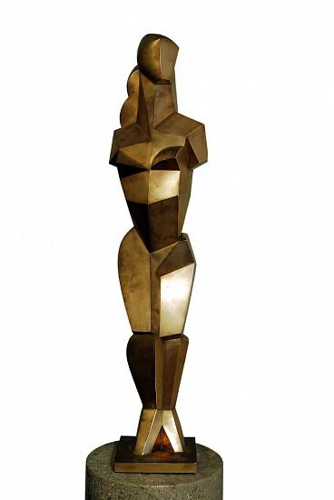 Jim Ritchie, La Mediterranean 1992, natural bronze