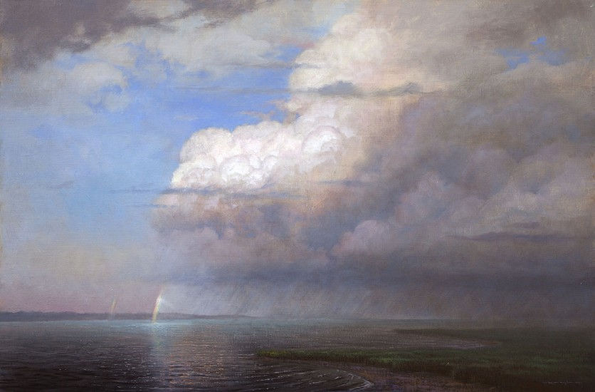 Thomas Kegler, After the Storm, Genesis 9:12-16 2016, oil