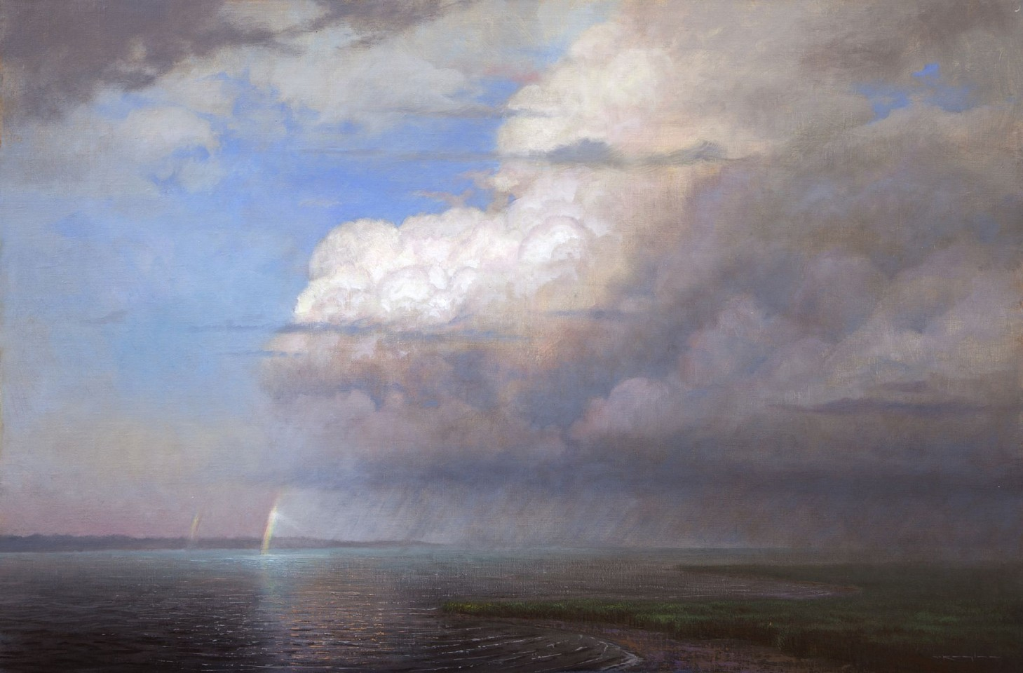 Thomas Kegler ,   After the Storm, Genesis 9:12-16  ,  2016     oil ,  24 x 36 in. (61 x 91.4 cm)     L1617