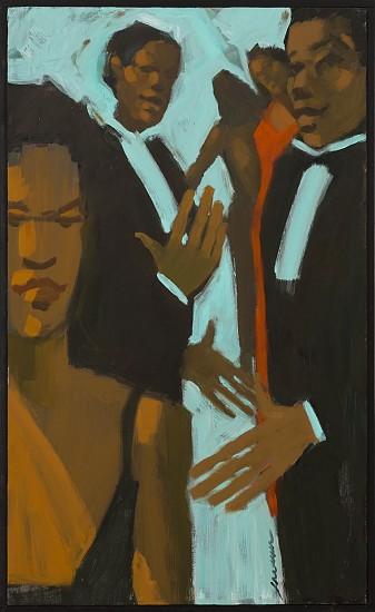 Robert Freeman, Upon Arrival 2016, oil on canvas