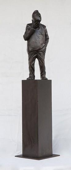 Jim Rennert, Bear, Edition of 9 2012, bronze and steel