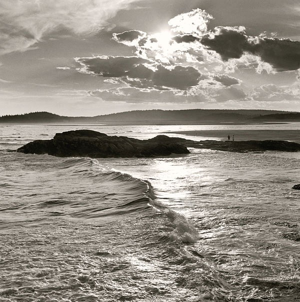 Michael Kahn ,   North Shore      silver gelatin photograph ,  19 x 19 in. (48.3 x 48.3 cm)     MK110904