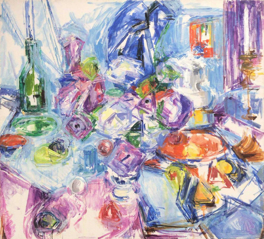 Mercedes Matter, Untitled (Large Abstract) oil on canvas