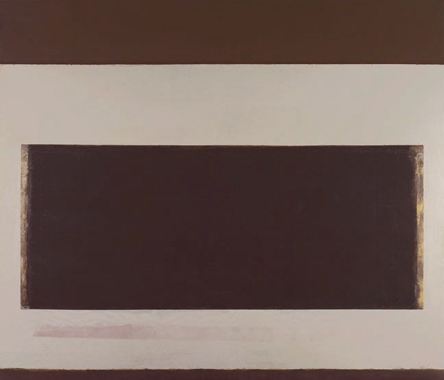 Perle Fine ,   Cool Series No.28, Clean Beat  ,  ca. 1961-1963     oil on canvas ,  60 x 70 in. (152.4 x 177.8 cm)     FIN-00015
