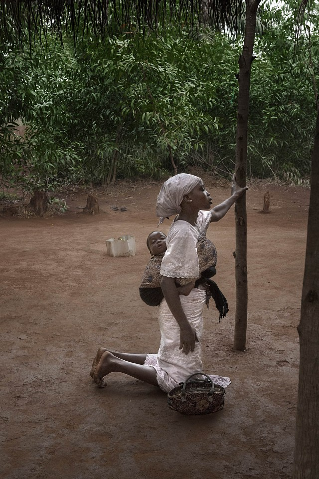 Steve McCurry ,   Benin- 10009  ,  2017     FujiFlex Crystal Archive Print ,  30 x 40 in. (76.2 x 101.6 cm)     10009
