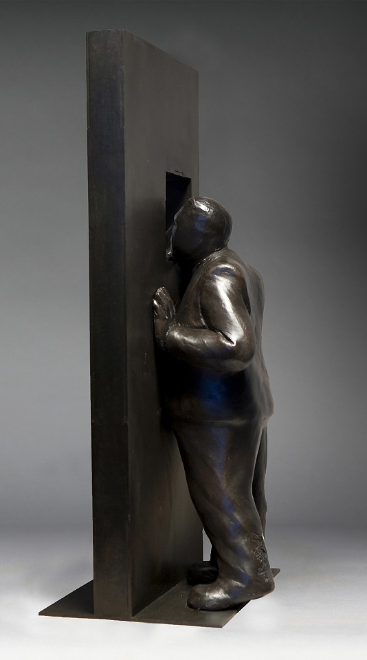 Jim Rennert ,   Epiphany, Edition of 9  ,  2010     bronze and steel ,  18 x 8 x 7 in. (45.7 x 20.3 x 17.8 cm)     JR120705