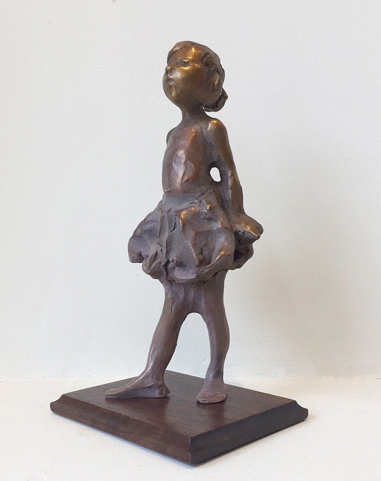 Jane DeDecker ,   Petite Degas, Ed. 5/31  ,  2018     bronze ,  18 x 8 x 4 1/2 in. (45.7 x 20.3 x 11.4 cm)     JD181209