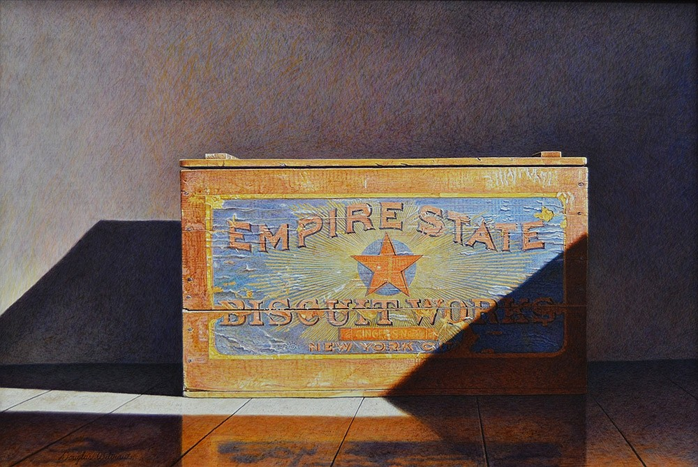 Douglas Wiltraut ,   Ginger Snaps  ,  2015     egg tempera on board ,  21 x 31 in. (53.3 x 78.7 cm)     DW151001