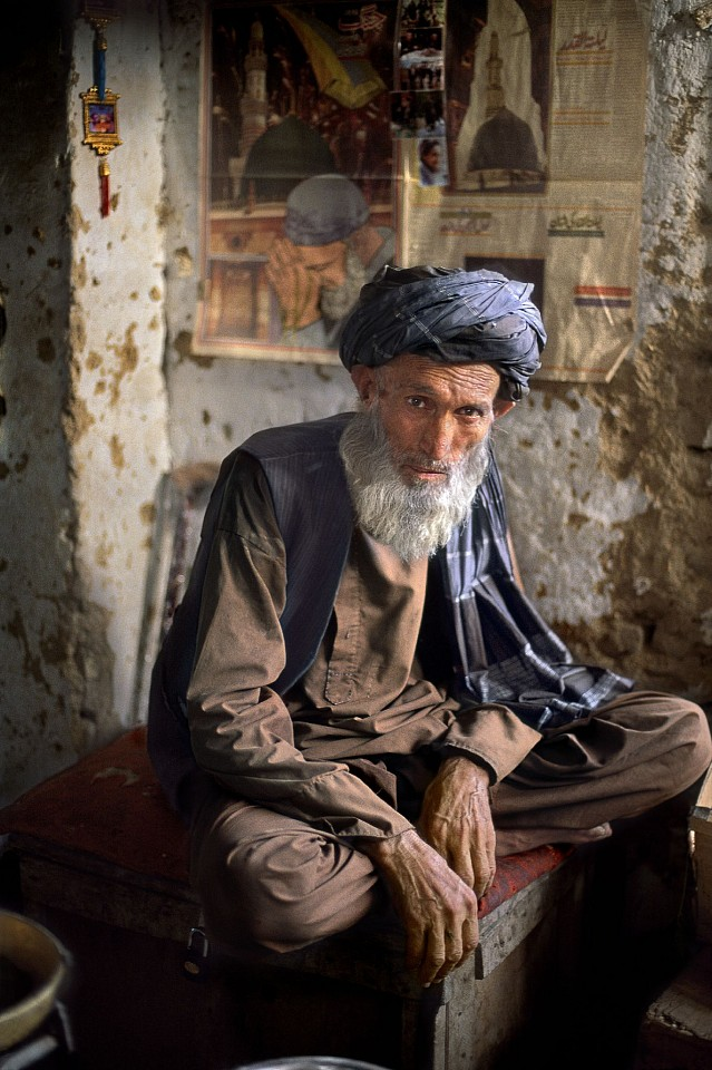 Steve McCurry ,   Chowdikar in Kunduz  ,  2002     FujiFlex Crystal Archive Print     Price/Size on request